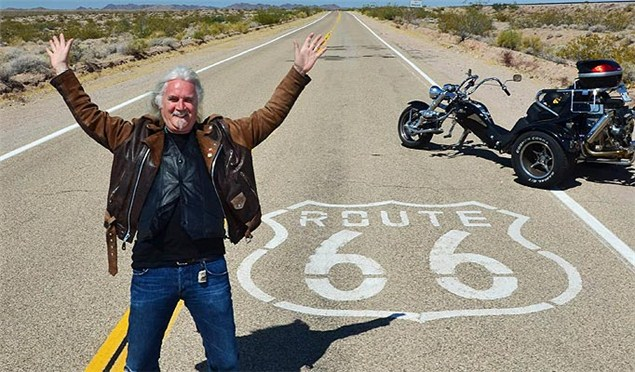 Billy Connolly tours Route 66