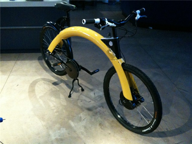 The Kenny Roberts electric (push) bike