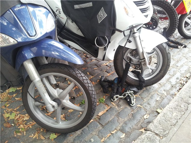 A steering lock is not enough: Don't be a victim