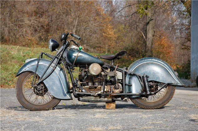 Historic motorcycle collection up for auction
