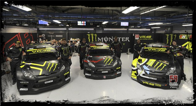 Rossi at the Monza Rally