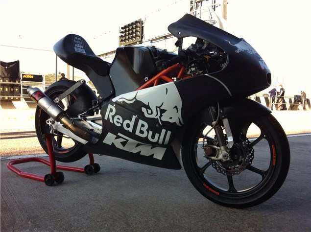 First Look: KTM's Moto3 entry