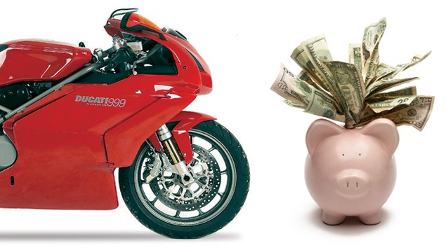 How to save money in motorcycling