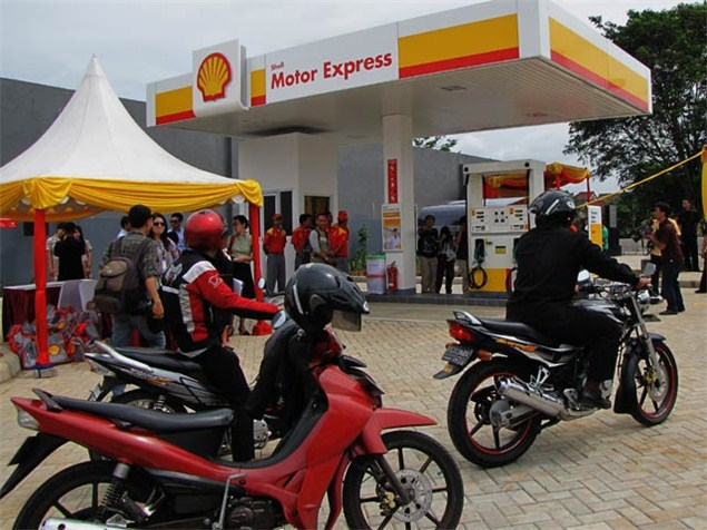 Shell open 'motorcycle-only' petrol station