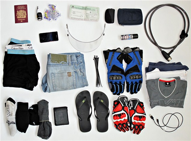 Performance Touring: How to pack light