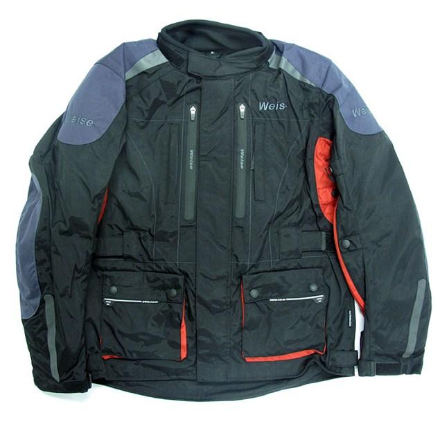Showcase: Waterproof textile jackets
