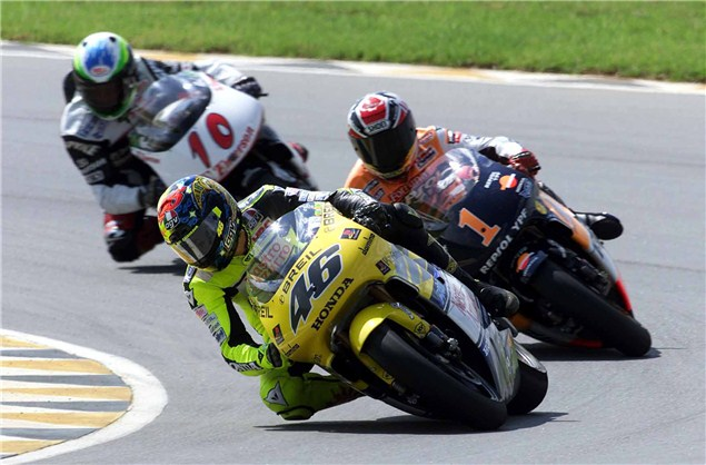 Rossi to make 200th premier class start