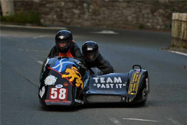 Pensioners sell farm, buy sidecar and enter the TT
