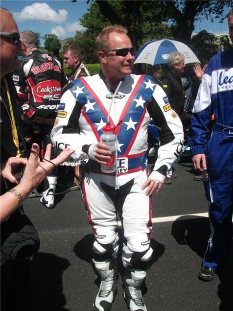 Evel Knievel's TT comeback?