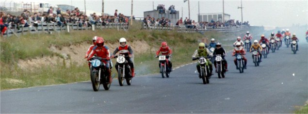 Anti clockwise Knockhill and riding in the North East with GP winners.
