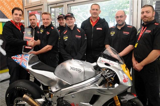Norton win Isle of Man TT award