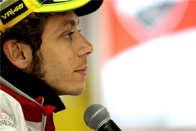 Rossi's future to be decided near Brno