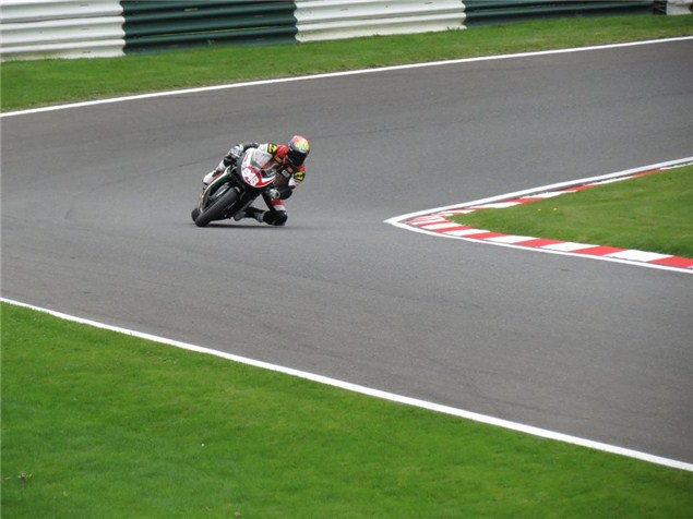 Shane Turpin on the 848 at Cadwell
