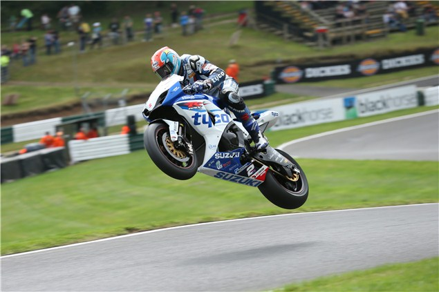 Brookes leaping Cadwell's Mountain