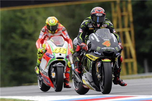 Rossi wishes Dovizioso 'good luck'