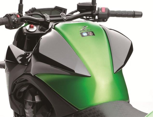 Kawasaki Z800 leaks