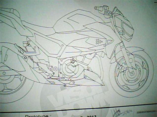 Kawasaki's naked 300 revealed
