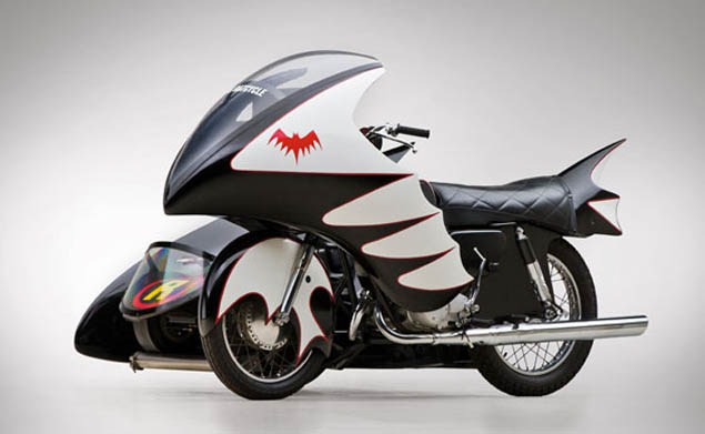 Batcycle and Knievel bike for sale
