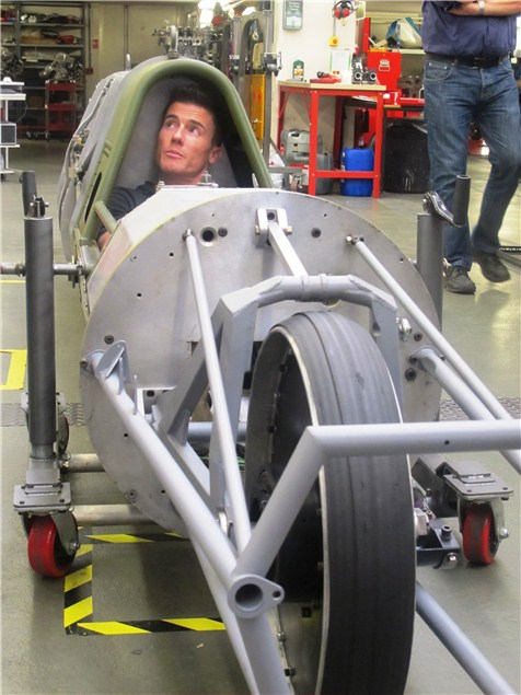 Toseland aims for 400mph