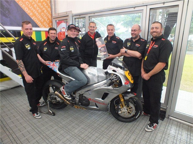 Two Nortons for TT 2013
