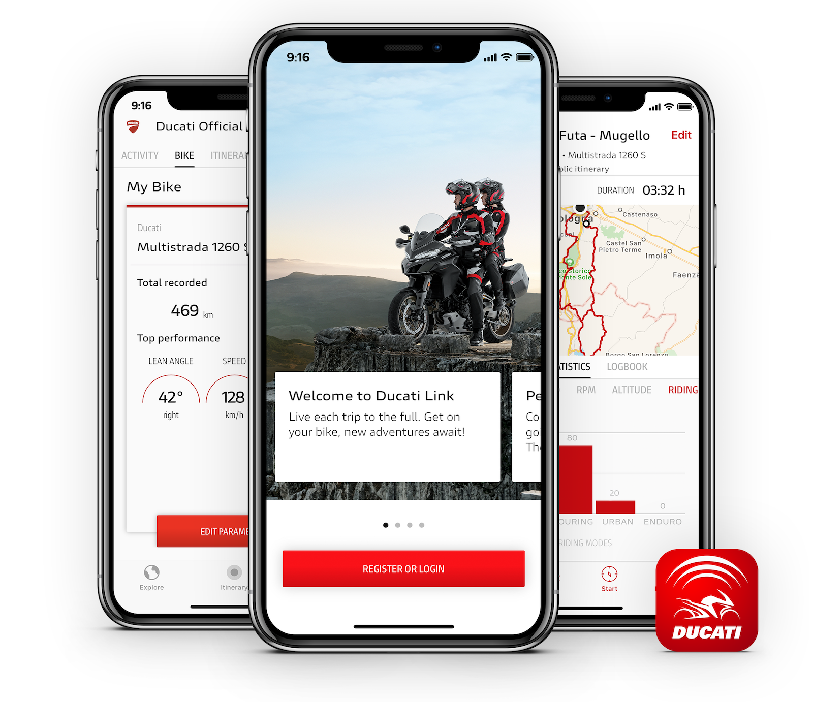 Ducati Link app