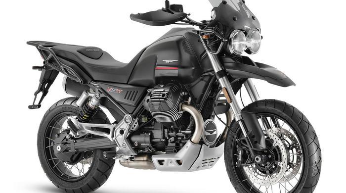 Moto Guzzi V85 TT получает доработки двигателя на 2021 год
