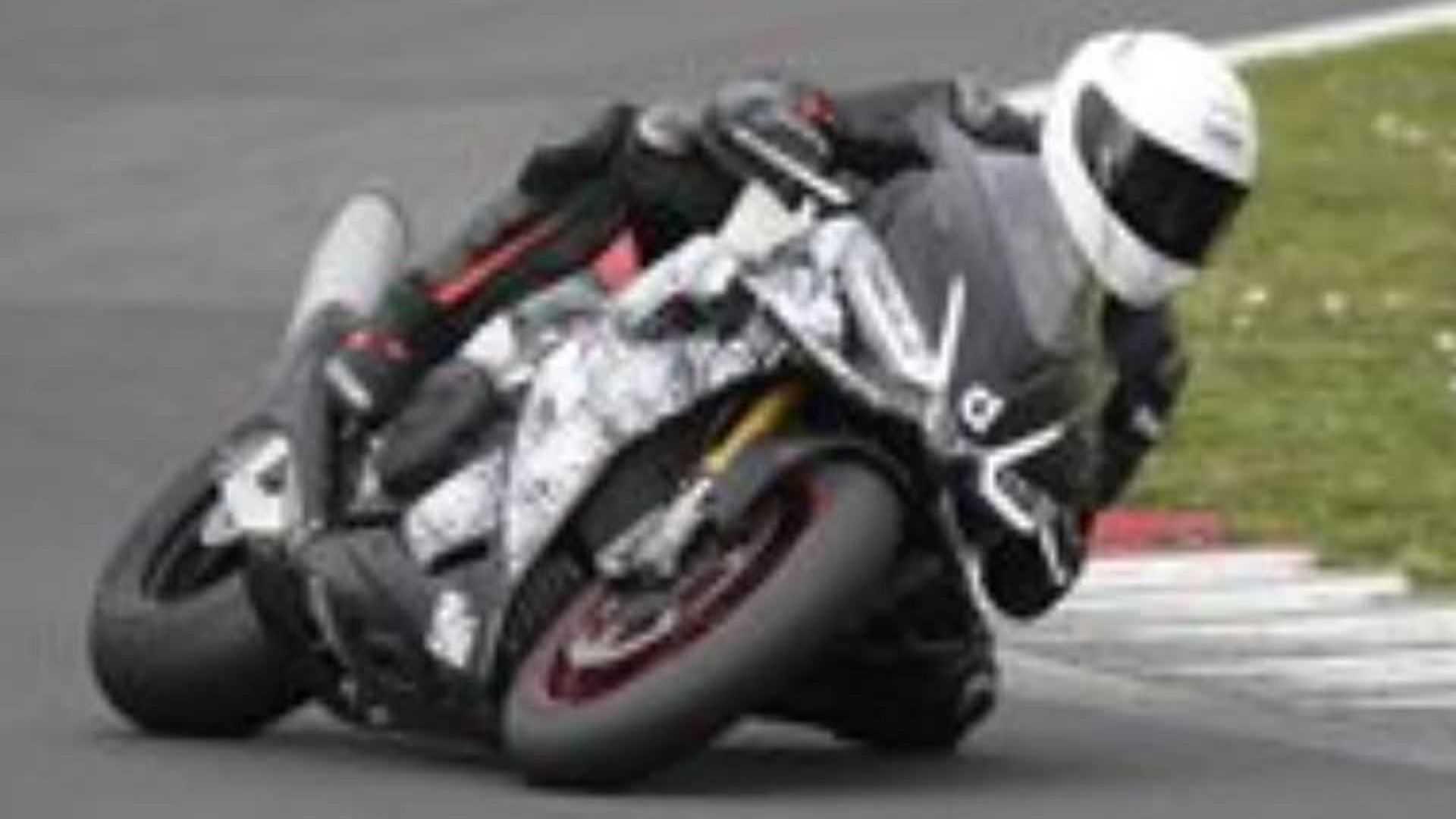 2021 Aprilia Rsv4 Spotted At Vallelunga Track Test Visordown