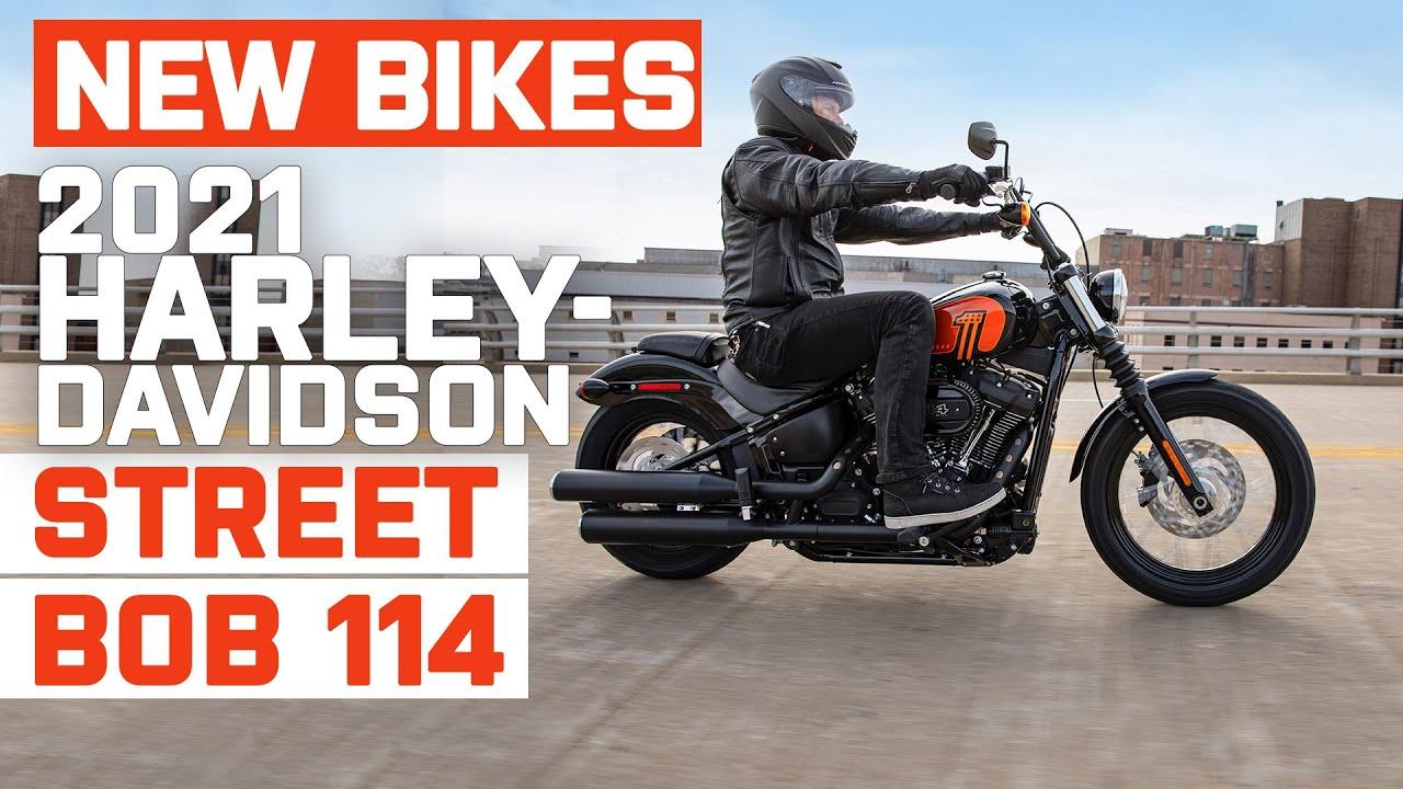 Harley-Davidson 2021 Street Bob 114 — обновленный softail с большим мотором