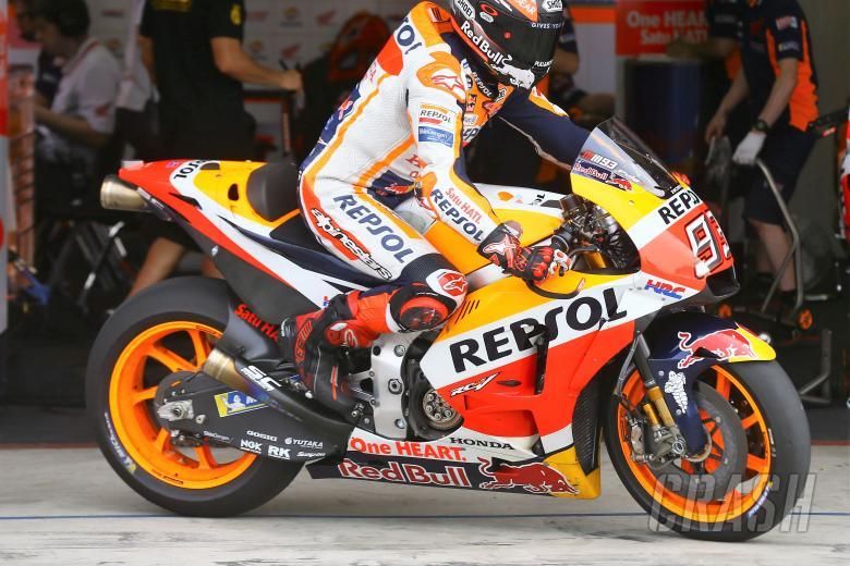 Thailand MotoGP Test: Honda's new carbon-fibre swing-arm breaks cover