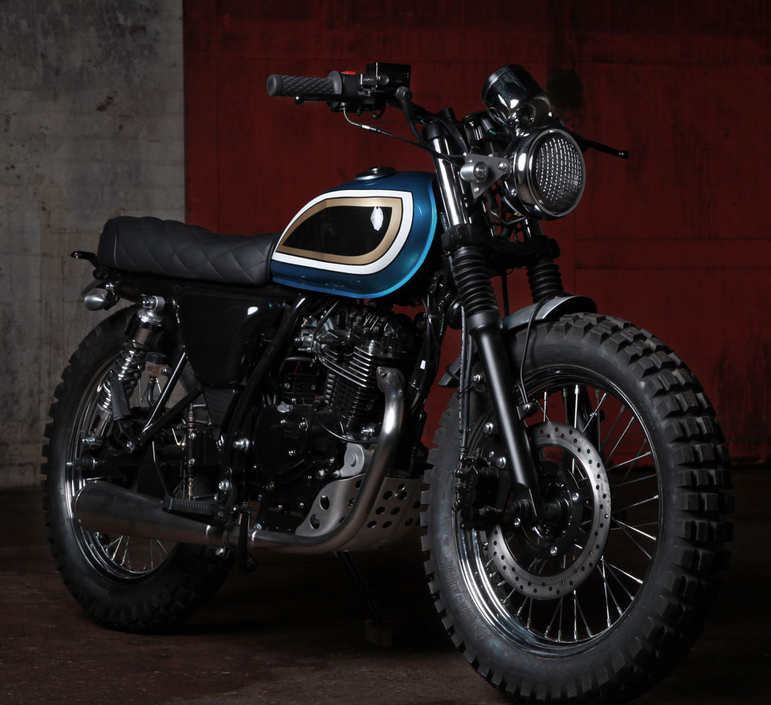 Mutt Motorcycles launches the Super 4