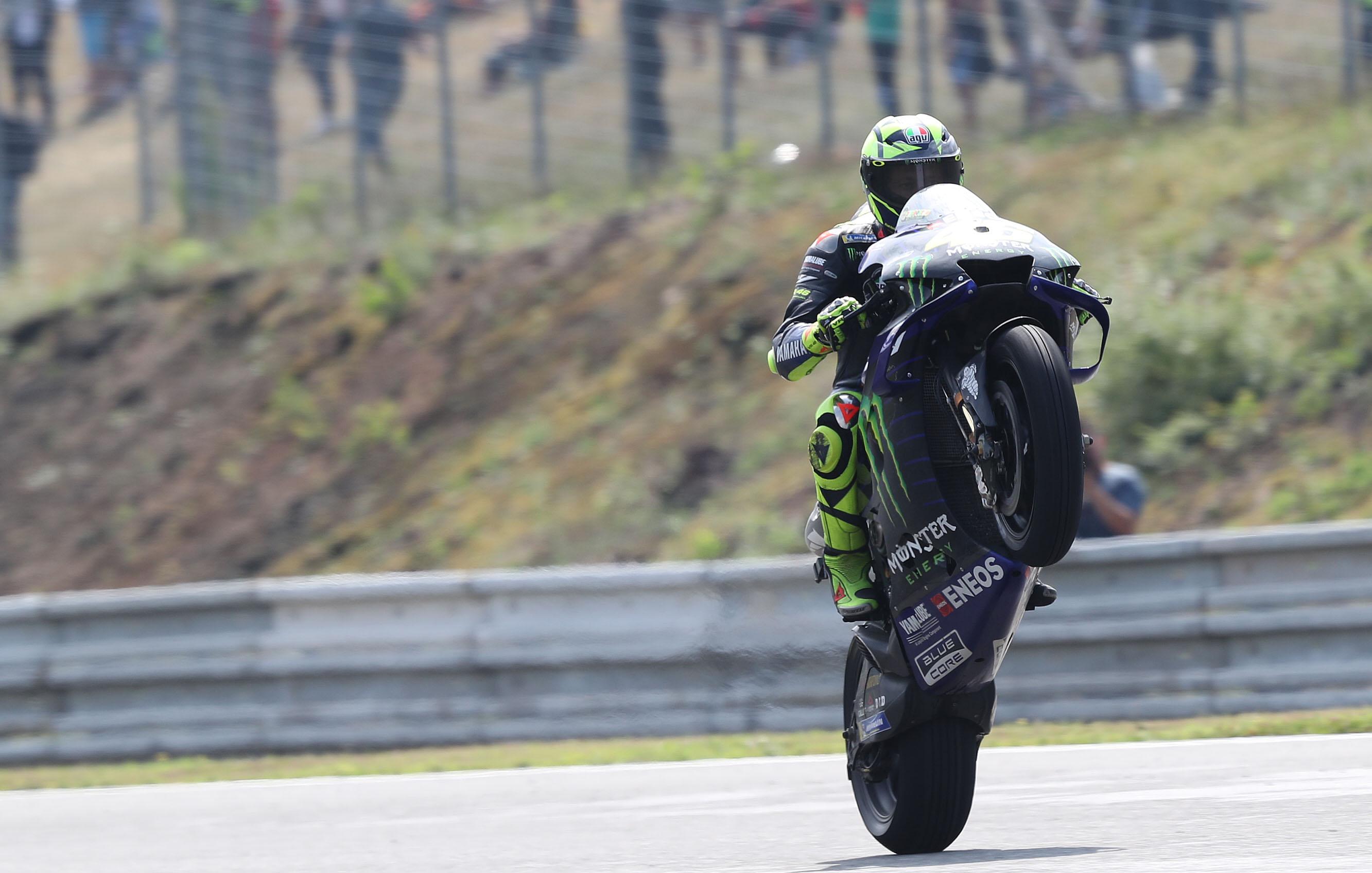 Rossi Vinales Give Yamaha S 2020 Motogp Engine Muted Visordown