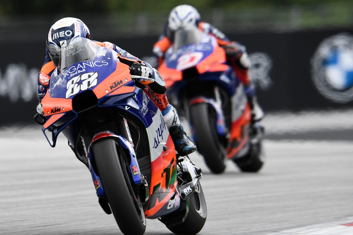 Styrian Motogp Race Results Miguel Oliveira Claims Sho Visordown