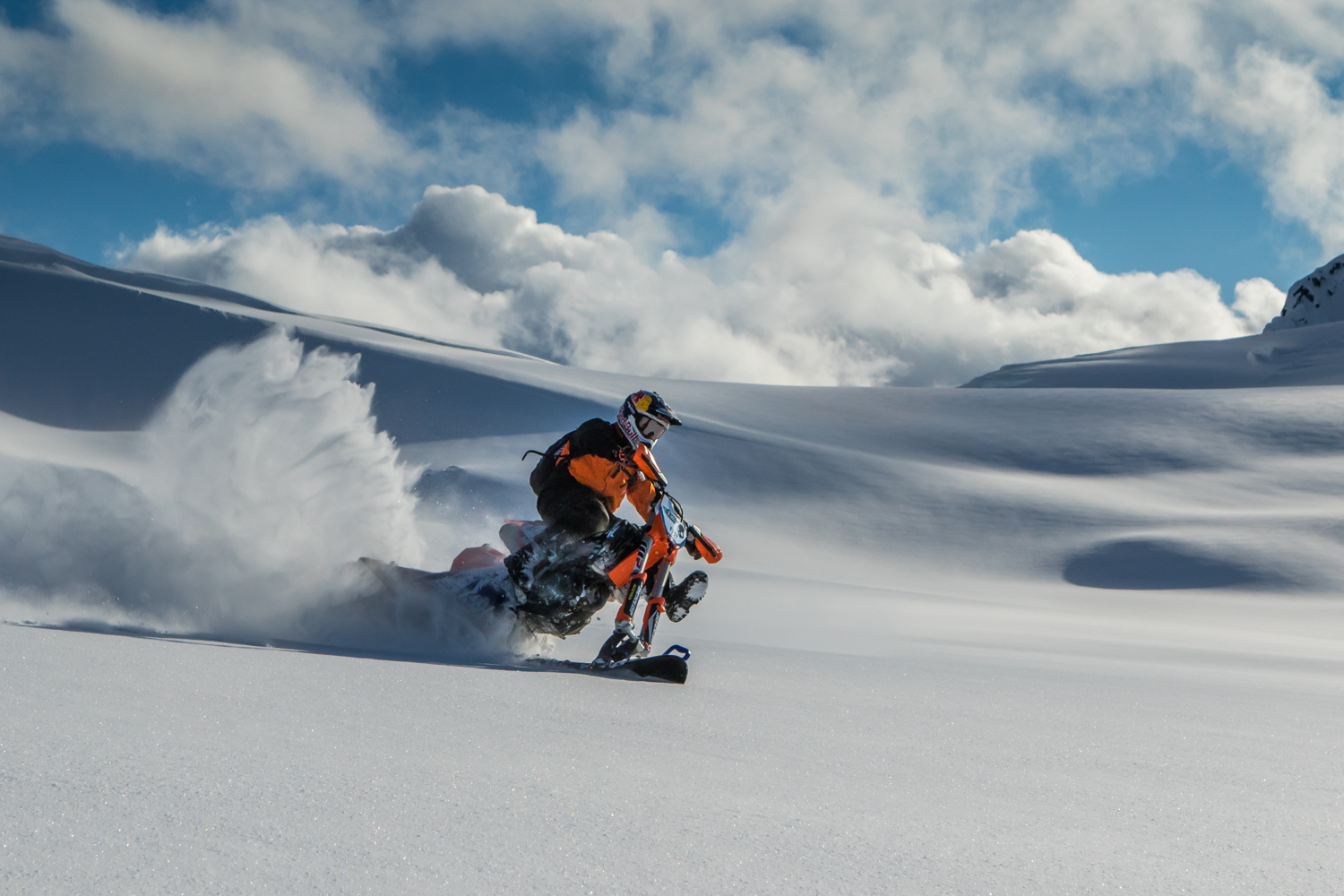Snow biking - the awesome way to ride in winter