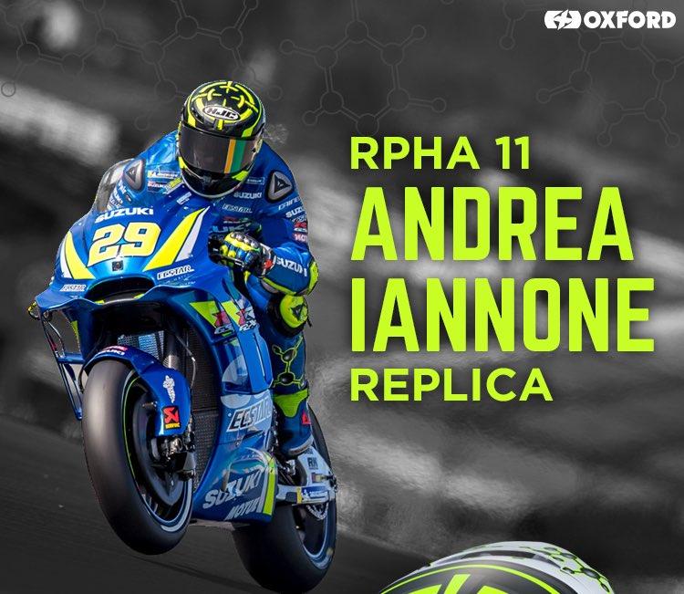 Andrea Iannone HJC lid