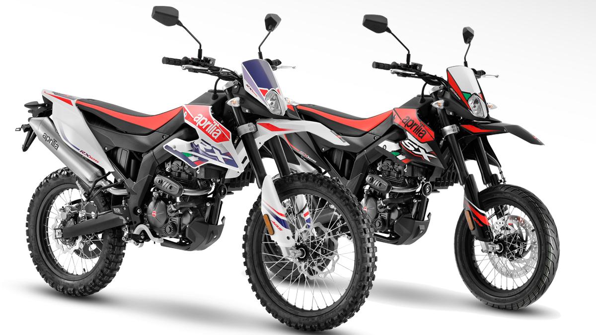 Новые мотоциклы объемом 125 куб. См |  Aprilia RX 125 и SX 125 2021 эндуро и супермотард