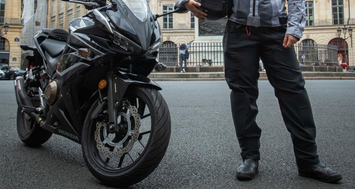 Мотоциклетные брюки с подушками безопасности теперь, по-видимому, в ходу.