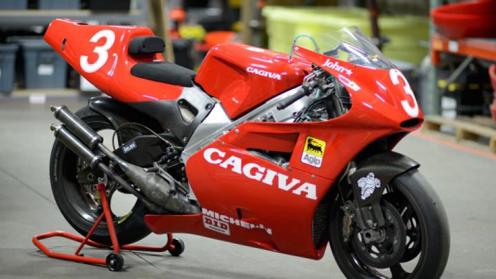 Редкий байк John Kocinski Cagiva V593 GP выставлен на продажу