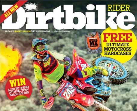 Лучший британский журнал о мотоциклах для бездорожья перезапускается, когда в продажу поступает DirtBike Rider