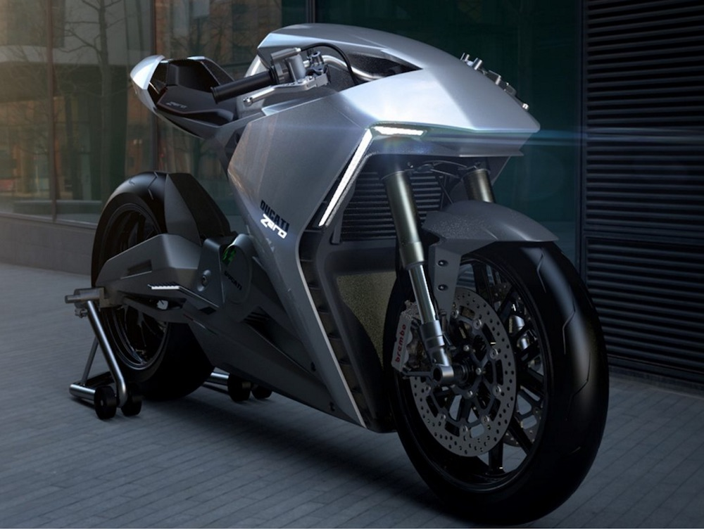 Ducati To Launch Production Electric Motorcycle Visordown