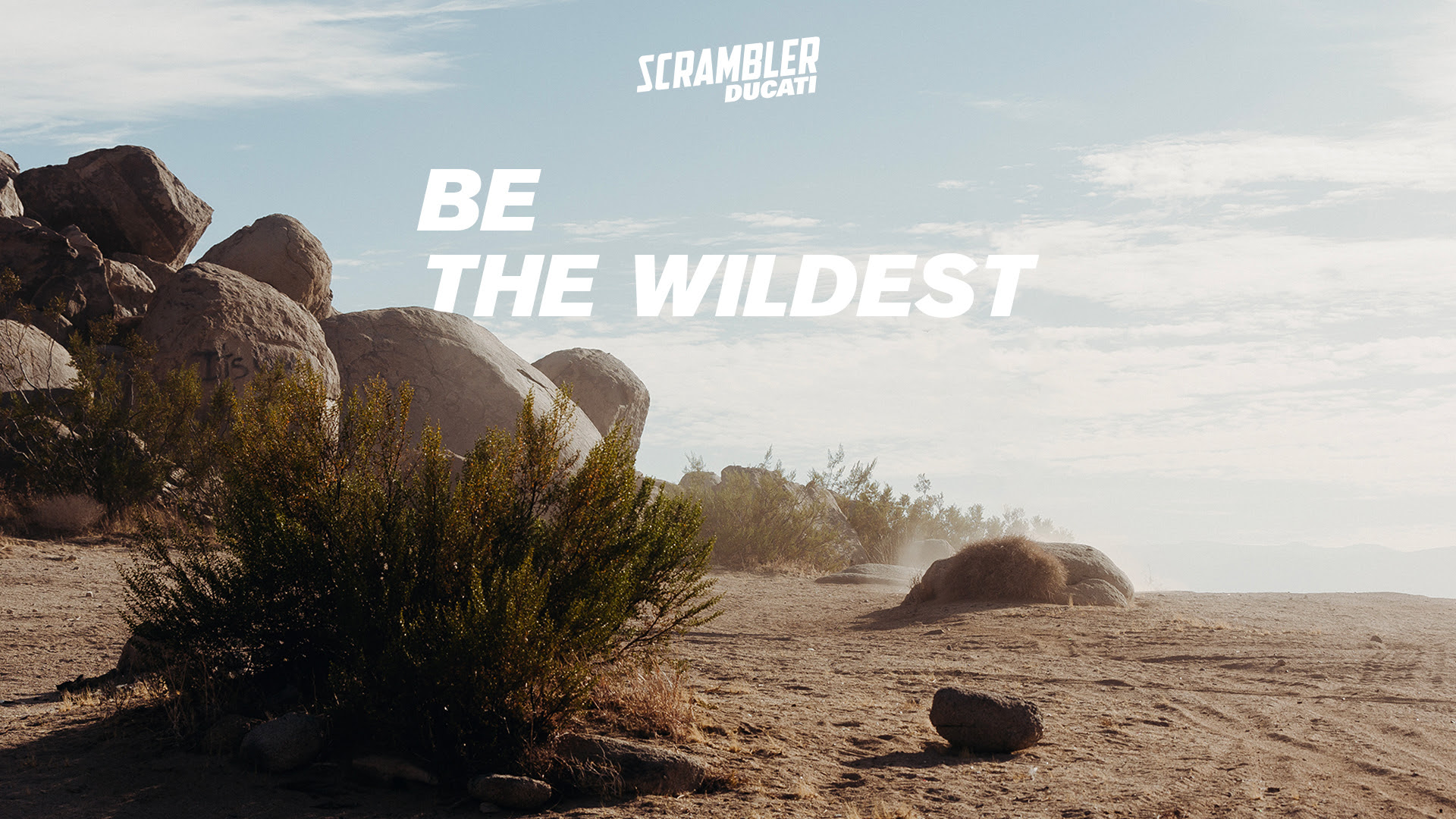 Ducati «Be The Wildest» Тизер: Новый Scrambler на подходе?  Узнаем 10 марта