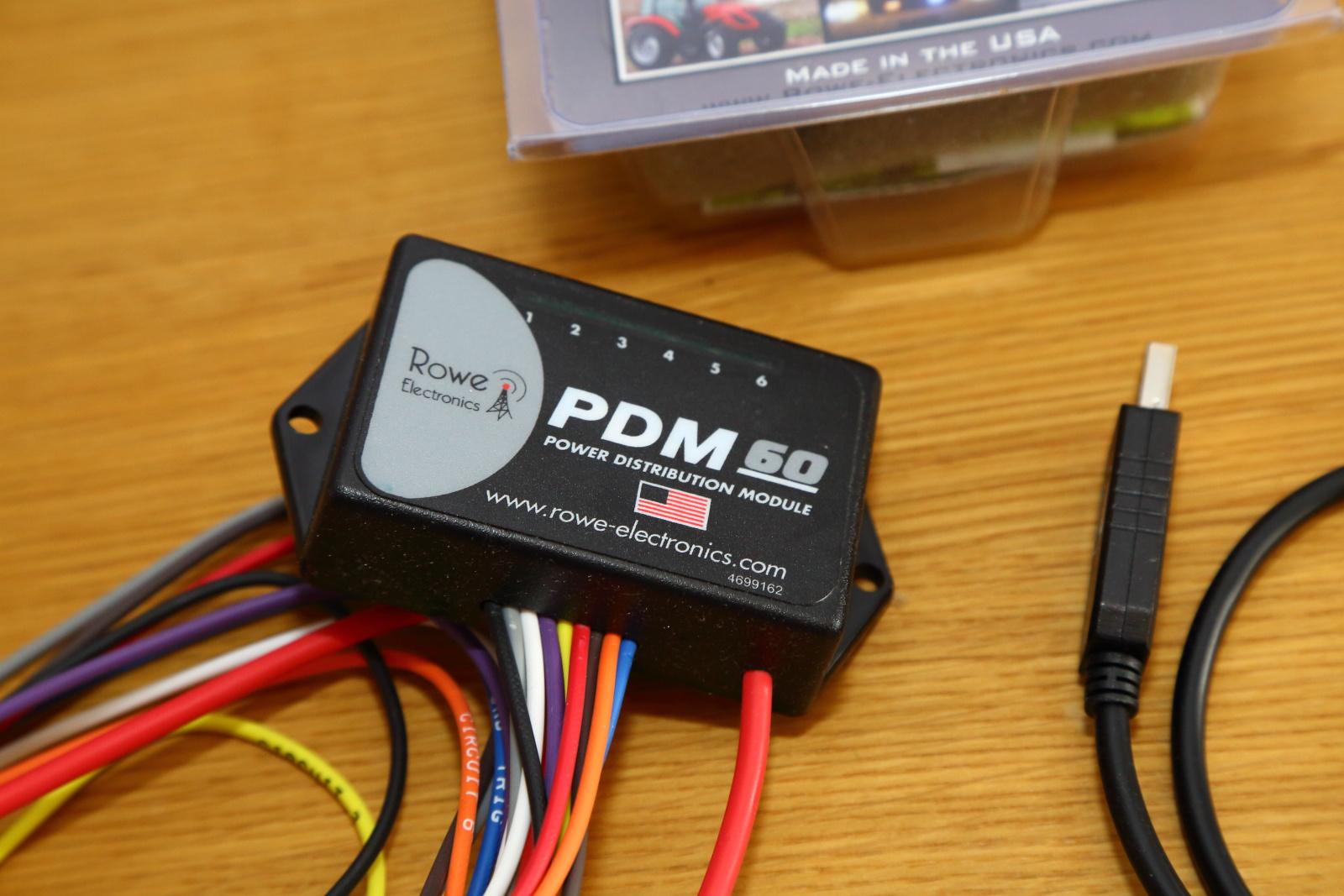 Rowe Electronics PDM 60 power distribution module