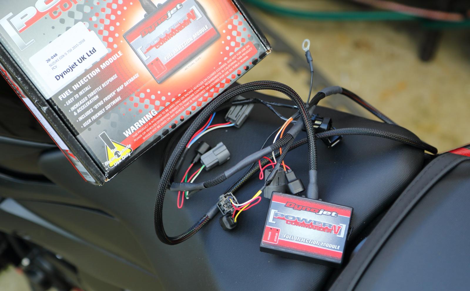 Power Commander for GSX-S750