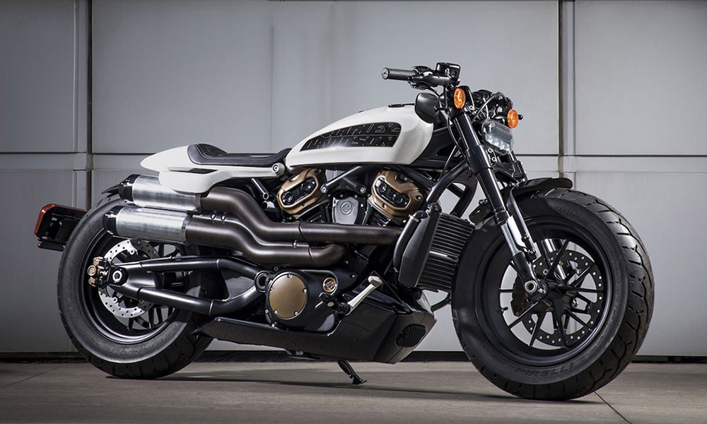 Harley Davidson Custom 1250cc Sportster On Its Way For Visordown
