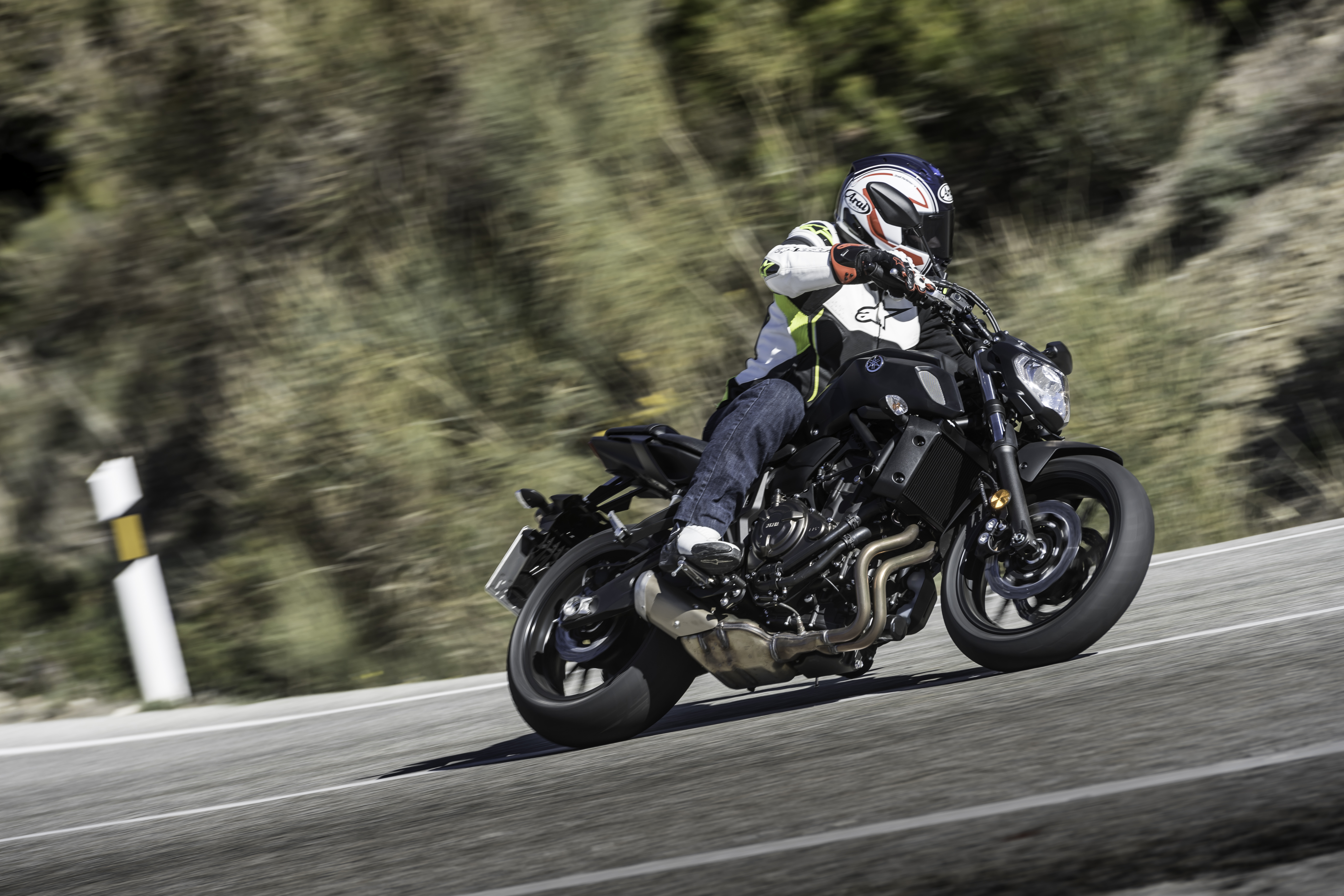 First Ride Yamaha MT 07 Launch Report