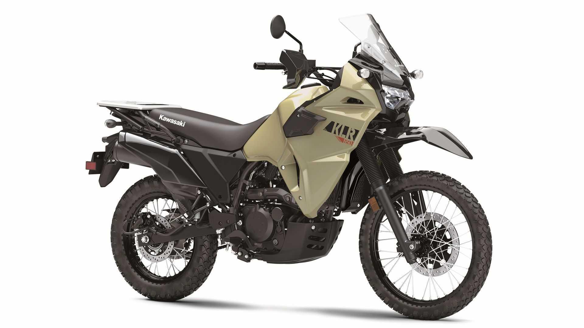 Kawasaki KLR650 вернулся — но, к сожалению, не для нас!