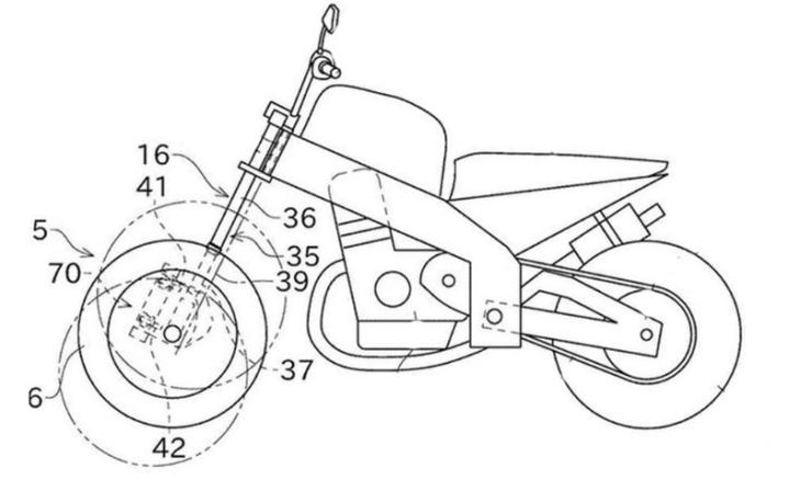 Обнародованы патенты на новый многоколесный мотоцикл Kawasaki