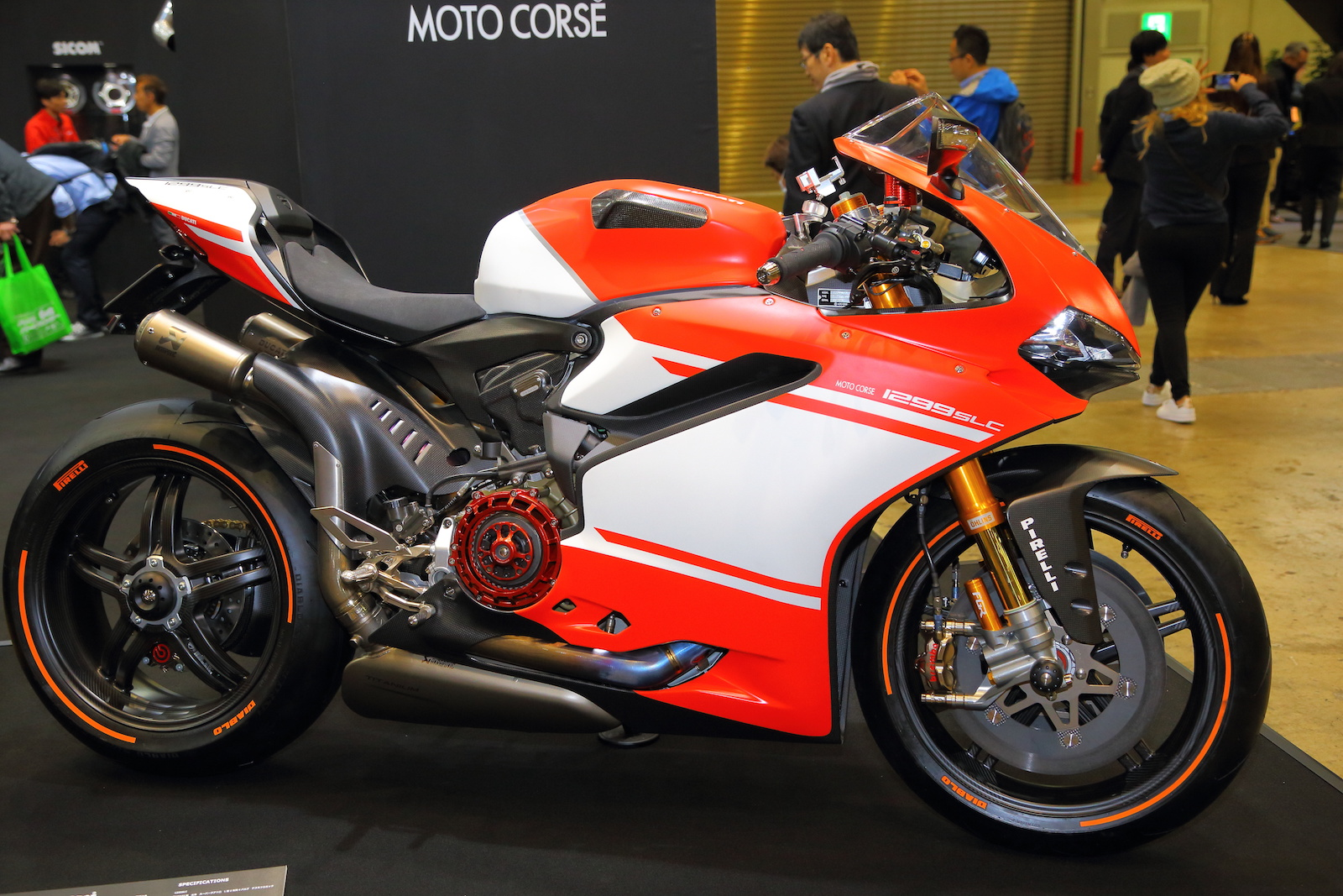 163120k ducati 1299 superleggera special on show visordown