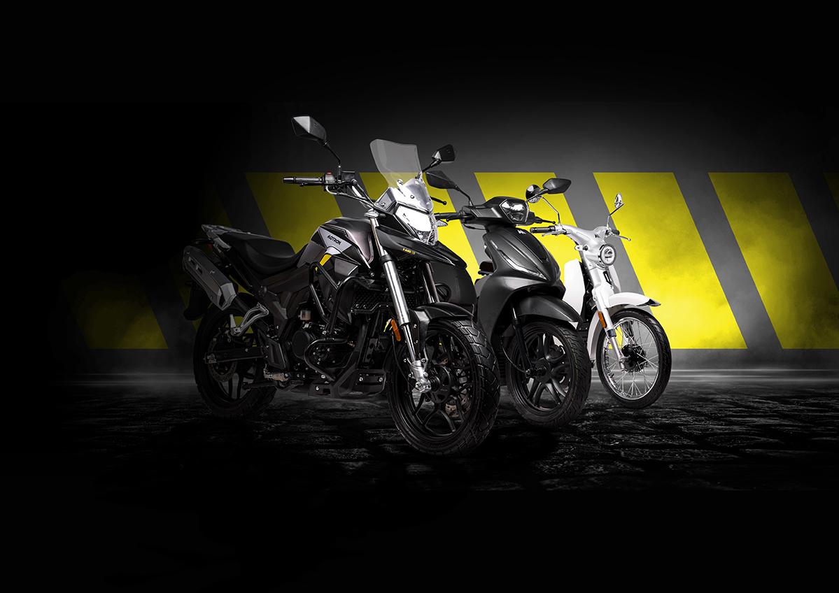 Новый Motron X-Nord 125 — Follow The M завершается выпуском мотоциклов нового бренда