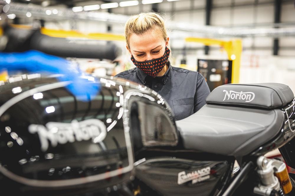 Открыто новое производство Norton Motorcycles!