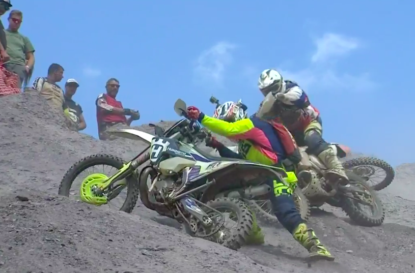 Brutal footage shows 'amateurs' take on the Erzbergrodeo Red Bull Hare Scramble